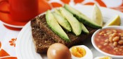 Eggs, beans & avocado