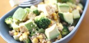 Warm Broccoli & Tofu Salad