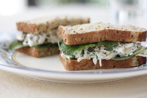 Lemon Tarragon Chicken Sandwiches 8125