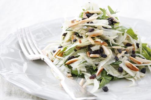 Gestational diabetes friendly Fennel and Almond Salad