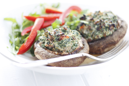 Stuffed Portobello Mushrooms Gestational Diabetes Recipes
