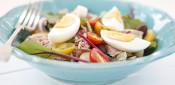 Gestational Diabetes friendly Salad Nicoise