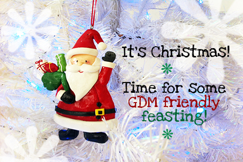 Gestational Diabetes Friendly Feasting at Christmas Time